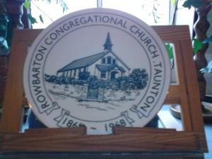 ROWBARTON CONGREGATIONAL CHURCH TREASURE