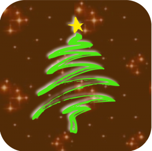 Xmas tree festival sparkly logo - sparkly lo-res